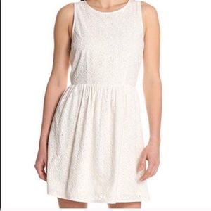 Joie Soleil White Eyelet Dress